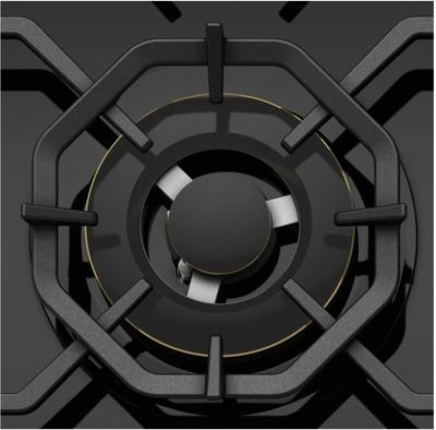 Westinghouse 60cm 3 burner black tempered glass gas cooktop %288%29