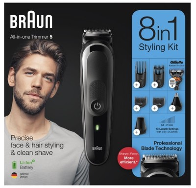 Braun 8 in 1 styling kit %283%29