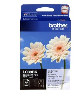 Brother Ink LC39BK BlackCartridge