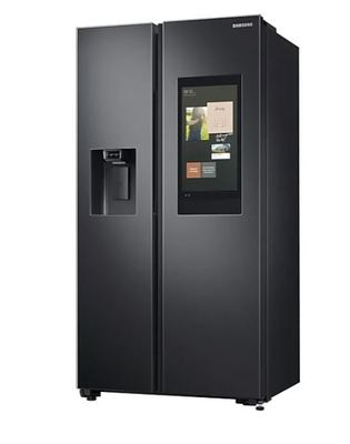 Samsung 656l side by side fridge   black 3