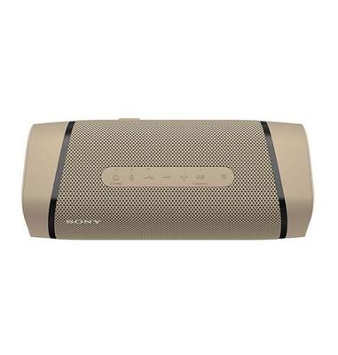 Sony extra bass wireless speaker taupe 4