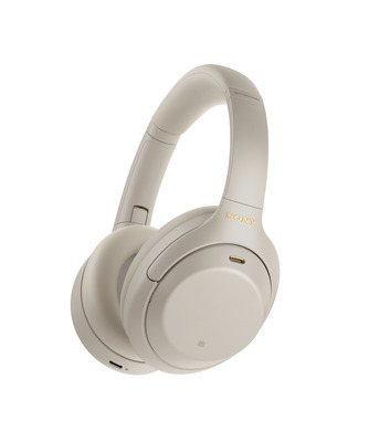 Sony Premium Noise Cancelling Over Ear Headphones - Silver