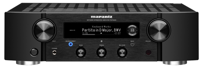 Marantz 2ch Integrated Stereo Amplifier with HEOS Built-in - black