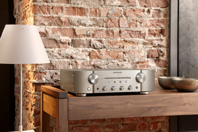 Marantz 2ch integrated amplifier with new phono eq   silver   3