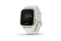 Garmin Venu SQ - Light Gold Aluminium Bezel With White Case And Silicone Band