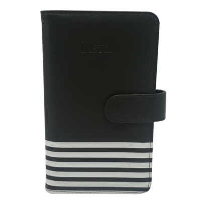 Fujifilm Instax Mini Album Charcoal Stripe