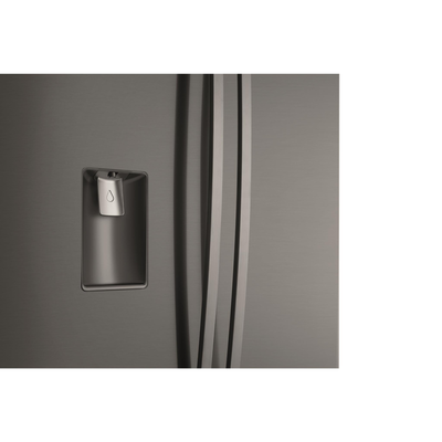 Wqe6060bb   westinghouse 600l dark stainless steel 4 door french door with water dispenser 3