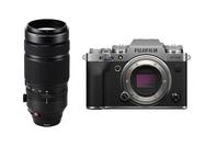 Fujifilm X-T4 Silver + Fujifilm XF100-400mm F4.5-5.6 R LM OIS WR Lens