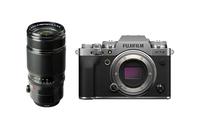 Fujifilm X-T4 Silver + Fujifilm XF50-140mm F2.8 R LM OIS WR