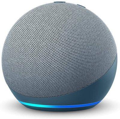 Amazon Echo Dot (4th Gen) Smart Speaker with Alexa - Twilight blue