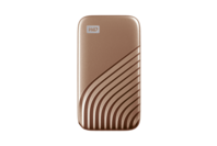 WD My Passport SSD, 1TB, USB 3.2 Gen-2 HDD- Gold