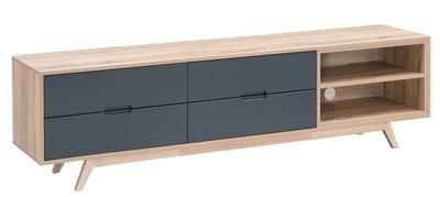 Tuscany TV Cabinet 1800 - Grey