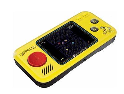 Pac man hits handheld gaming system 3