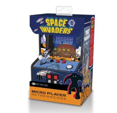 Space invaders micro player collectible retro my arcade arcade machine 2