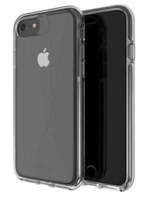 Gear4 - Piccadilly Case for Apple iPhone iPhone SE / 8 / 7 / 6s / 6 - Black