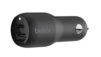 BELKIN 32W USB-C PD + USB-A Car Charger