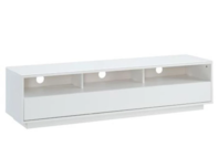 Tauris Suave1500 Lowline Cabinet - White