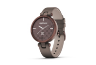 Garmin Lily - Classic Edition Dark Bronze Bezel with Paloma Case and Italian Leather Band