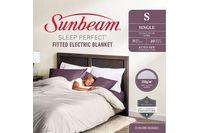 Sunbeam Sleep Perfect Single Bed Fitted Heated Blanket