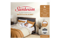 Sunbeam Sleep Perfect King Bed Quilted Heated Blanket