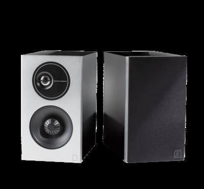 Definitive Technology Demand Series Small High-Performance Bookshelf Speakers Piano Black - Pair
