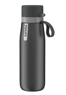 Philips GoZero Daily Insulated Straw Filtration Bottle - Grey