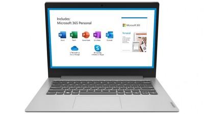 Lenovo Ideapad Slim 11.6-inch Celeron-N4020 4GB Ram 64GB HDD Laptop