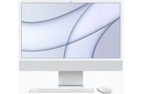 "Apple 24"" iMac With Retina Display M1Chip 8 Core Cpu 7 Core Gpu 256GB Silver"
