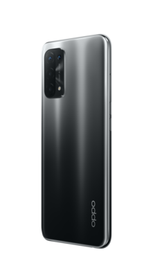 Oppo a54 5g fluid black back45right lowres