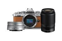 Nikon Z FC Amber Brown Nikkor 16-50mm VR Silver + 50-250mm