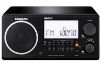 Sangean Wooden Cabinet Digital Tuning Radio (Black)