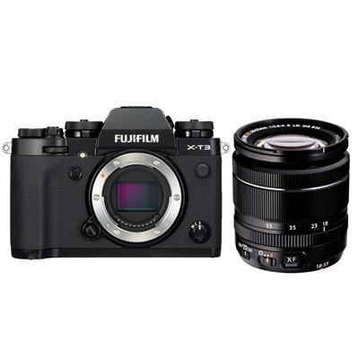 Fujifilm X-T3 Mirrorless Digital Camera with 18-55mm Zoom Lens