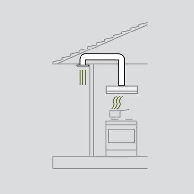 Soffit ducting kit diagram