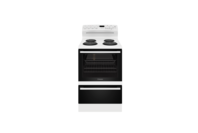 Westinghouse 60cm White Electric Freestanding Cooker with 4 Zone Coil Cooktop