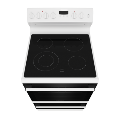 Wle645wc   westinghouse 60cm electric freestanding cooker white with 4 zone ceramic cooktop %283%29