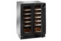 Ilve 36B Black Glass Wine Cabinet