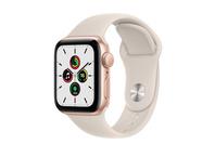 Apple Watch SE GPS, 40mm Gold  Case With Starlight Sport Band - Regular