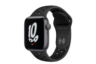 Apple Watch Nike SE GPS, 40mm Space Grey  Case With Anthracite/Black Band