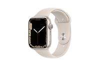 Apple Watch Series 7 GPS 45mm Starlight Aluminium Case With Starlight Sport Band