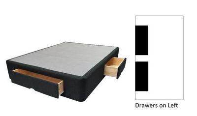 SLEEPMAKER DRAWER BASE SINGLE - LEFT HAND