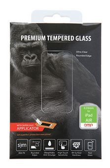 OMP iPad Air Premium Tempered Glass Screen Protector