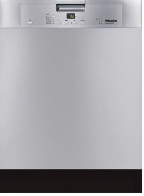 Miele Built-under Dishwasher - Stainless Steel