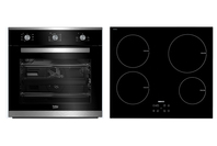 Beko Built-in Oven & Induction Cooktop Bundle
